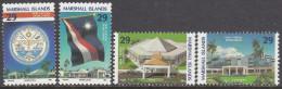 MARSHALL Is, 1993 NEW CAPITAL 4 MNH - Marshall Islands