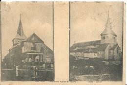 GEX ( Ain ) -  L'ANCIENNE EGLISE SAINT-PIERRE  Nord Et Sud -  1908 - Gex