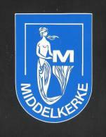 MIDDELKERKE  (S 817) - Stickers