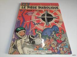 REEDITION BLAKE ET MORTIMER/ LE PIEGE DIABOLIQUE/ 1974/ BE - Blake Et Mortimer