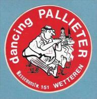 Dancing PALLIETER - WETTEREN  (S 877) - Adesivi