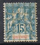GUYANE N°35 NSG - Guyane Française (1886-1949)