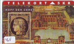 TEMBRE Sur Télécarte  * DANEMARK * Stamp  On Phonecard DANMARK (46E) Briefmarke Auf TELEFONKARTE * TIRAGE ISSUED 2000 EX - Timbres & Monnaies