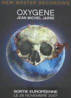 JEAN MICHEL JARRE OXYGENE PLAN MEDIA CARTONNEE FORMAT 21X15 ETAT NEUF TRES RARE - Altri Oggetti