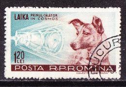 Spazio-Laika Romania 1957-Usato