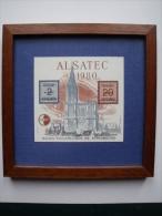 ALSATEC = LE BLOC ET FEUILLET DE 1980 DANS SON ENCADREMENT - CNEP