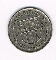 MAURITIUS  1 RUPEE   1993 - Maurice