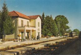 ITALY -BALSORANO AQ, Stazione Ferroviaria, Railway Station, Gare  Vintage  Postcard - Italien