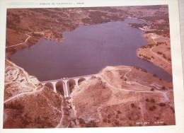 Corse Barrage De Calacuccia Photo180X235 Mm Datée 1968 - Bien Lire Descrpitf - Plaatsen