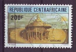 Repubblica Centroafricana, 1982 - Granary - Usato° Nr.569 - Repubblica Centroafricana
