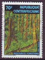 Repubblica Centroafricana, 1984 - Forestry Resources - Nr.664 Usato° - Repubblica Centroafricana