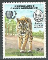 Repubblica Centroafricana, 1985 - Famous Children's Book - Nr.718 Usato° - Centrafricaine (République)