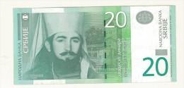 CARTAMONETA - PAPER MONEY  - SERBIA 2006 - 20 DINARI -  QUALITY BB - NON STIRATA - Serbie
