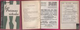 ´´Les Précieuses Ridicules ´´ De Molière, Chez Bordas ( 1962 ) En 111 Pages - Theatre