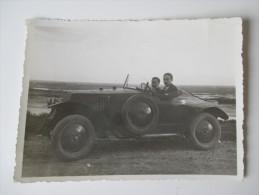 Originalfoto 30/40er Jahre Sportwagen ?! Frankreich / Marokko ?! Reiche Personen ?? - Automobile