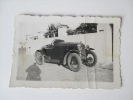 Originalfoto 1930er Jahre. Marokko / Maroc. Sportwagen / Oldtimer / Einsitzer. Optique - Photo Albert Casablanca - Automobile