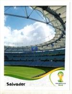 FIGURINE PANINI NUOVE - MINT STICKERS BRASIL WORLD CUP 2014 - BRASILIAN STADIUM - SALVADOR - N.29 - Edizione Italiana
