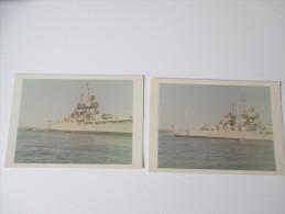 Originalfotos 1960er Jahre ?? Casablanca ?? Afrika / Marokko. Kriegsschiff - Guerra, Militares