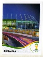 FIGURINE PANINI NUOVE - MINT STICKERS BRASIL WORLD CUP 2014 - BRASILIAN STADIUM - FORTALEZA - N.17 - Panini