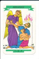 Abraham ... Et Isaac Sauvé Par Un Ange  / Bible Hébreux Religion  // IM 124/6 - Old Paper