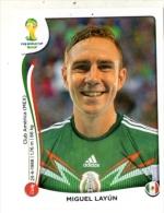 FIGURINE PANINI NUOVE - MINT STICKERS BRASIL WORLD CUP 2014 - MEXICO - MIGUEL LAYUN - N.76 - Edizione Italiana