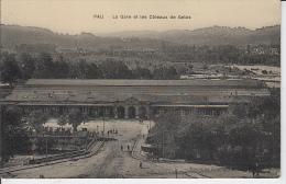 PAU - La Gare Et Les Côteaux De Gelos - Pau