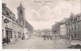 BEAUMONT GRAND'PLACE (EGLISE IMPRIMERIE LIBRAIRIE A MERTENS) - Beaumont