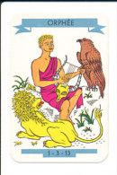 Orphée ... Charmant Les Bêtes Sauvages Avec Sa Lyre / Grèce Musique Mythologie Grecque  // IM 124/6 - Old Paper