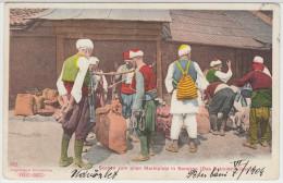 00206 Sarajevo 1904 Scenen Vom Alten Marktplatz In Sarajevo - Das Getreide Wägen - Bosnie-Herzegovine