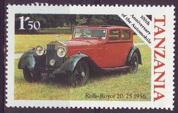 Tanzania, 1985 - 1,50sh Roll-Royce 20.25 - Nr.263 MNH** - Tanzania (1964-...)