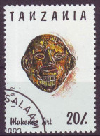 Tanzania, 1992 - 20sh Makonde Art - Nr.985A Usato° - Tanzania (1964-...)