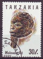 Tanzania, 1992 - 30sh Makonde Art - Nr.985B Usato° - Tanzania (1964-...)