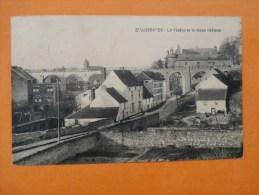 ECAUSSINNES - Le Viaduc Et Le Vieux Château - Cp - Ecaussinnes