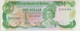 Belize 1 Dollars 1986 Pick 46b UNC - Belize