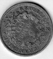 Pièce De 5 Francs 1848 - France