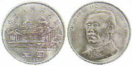 1996 CHINA 110 ANNI OF ZHU DE COMM.COIN 1V - Chine