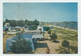 Anglet (64) : Vue Intérieur Du  Camping De La Barre De L'adour En 1970 (animé) GF. - Anglet