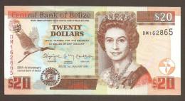 Belize 20 Dollars 2012 Pick New UNC - Belize