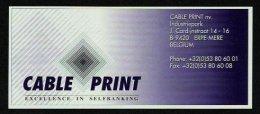 "Test Note ""CABLE PRINT"", 50 Units, Beids. Druck, RRRRR, UNC, Dollar-Format - USA"
