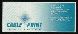"Test Note ""CABLE PRINT"", 500 Units, Beids. Druck, RRRRR, UNC -, Dollar-Format - USA"