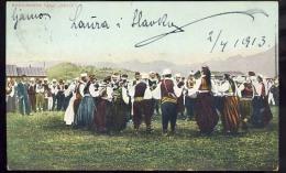 "AK   BOSNA      BOSNIA    TANZ  DANCE ""  KOLO   ""    1913. - Bosnia And Herzegovina"