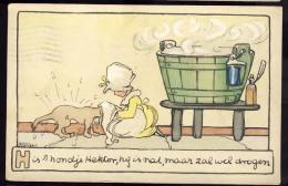 AK     COMICS      BUD VEER    Signed   1920 - Stripverhalen