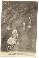 34/   Mines de la Rabasse - Comune d'Av�ne - Chantier d'Abatage du Minerai -  Soci�t� Metallurgique de l'Orb -