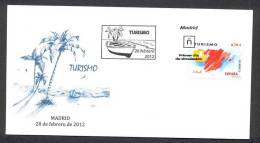 SPAIN ESPAGNE 2012. SPECIAL POSTMARK. TOURISM. SHIPS. BOAT - Ships