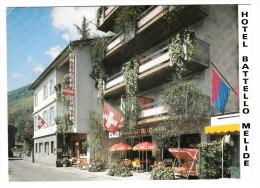 Suisse - Melide - Hotel Battello - TI Tessin