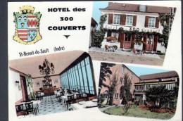 36 - St BENOIT DU SAULT - HOTEL DES 300 COUVERTS - France