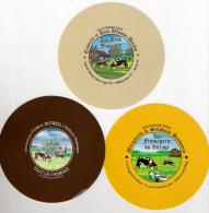 3 étiquettes De Fromage Neuves - Kaas