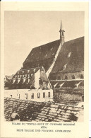STRASBOURG - EGLISE DU TEMPLE-NEUF ET GYMNASE INCENDIE -1860 - Le Strasbourg Disparu -Maison D´Art Alsacienne - Strasbourg