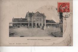 Cpa De Montdidier La Gare - Montdidier