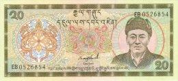 Bhutan 20 Ngultrum 1992 Pick 16b UNC - Bhutan
